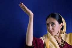 piękno hindusa young Obrazy Royalty Free