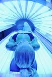 Piękno i zdroju solarium traktowanie Zdjęcie Royalty Free