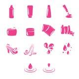 Piękno ikony Ustawiać royalty ilustracja