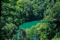 Piękno jezioro w Szilvà ¡ svà ¡ rad, Węgry zdjęcia royalty free
