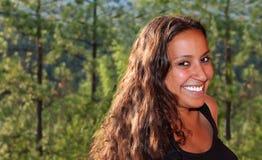 piękno kobieta indyjska naturalna obrazy stock