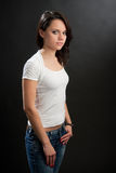 piękno kobiety Fotografia Stock