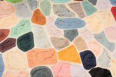 Piękno koloru sztuki kształtów deseniowy tło Fotografia Stock