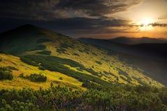 piękno krajobrazu Obrazy Royalty Free