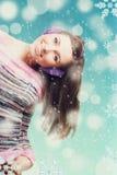 Piękno młoda dziewczyna obrazy royalty free