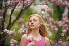 Piękno, młodość i świeżość w wiośnie, Easter obraz royalty free