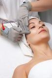 piękno masażu zwolnienia twarzowe serii Fotografia Royalty Free