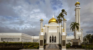 Piękno meczet obrazy royalty free