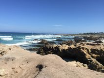 Piękno 17 mil przejażdżki plaża Fotografia Royalty Free