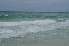 Piękno na plaży obraz royalty free