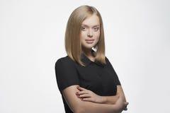 Piękno nauczyciela młoda kobieta Zdjęcie Royalty Free
