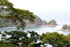 piękno oceanu dżungli Obrazy Royalty Free