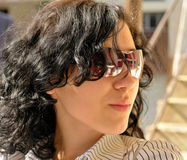 piękno okulary przeciwsłoneczne Zdjęcia Royalty Free