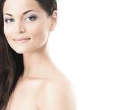 Piękno portret młoda kobieta w makeup zdjęcia stock
