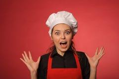 Piękno potomstw kucharz Fotografia Royalty Free