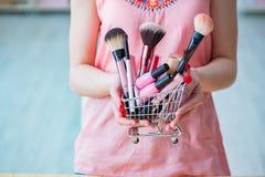 Piękno produktów gwoździa opieka wytłacza wzory pedicure'u zbliżenie Zdjęcie Stock