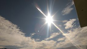 Piękno słońce Zdjęcie Royalty Free