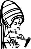 Piękno salonu Włosiana suszarka ilustracja wektor