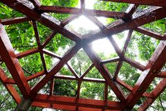 Piękno sufit struktura zdjęcie stock