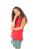 piękno target1476_0_ dziewczyny Zdjęcia Royalty Free
