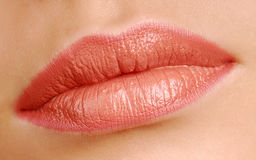 piękno ust kobiety Zdjęcia Royalty Free