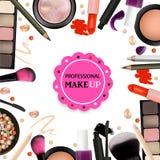 Piękno Uzupełniał projekt dla salonu, kursy, MakeUp artyści Kosmetyczni produkty, profesjonalista Uzupełniali, opieka Printable s ilustracji