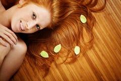 piękno włosy Obrazy Royalty Free
