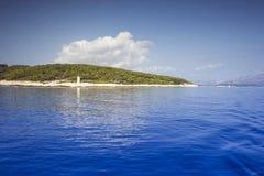 piękny łódkowaty widok Fotografia Stock