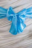 Piękny łęk na tkaniny tle zdjęcia royalty free