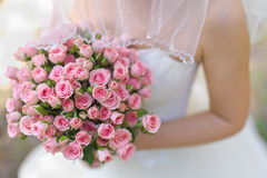 Piękny ślubny bukiet Obraz Royalty Free