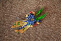 Piękny ślubny bukiet kolorów kwiaty Obrazy Stock