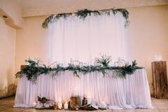 Piękny ślubny czas zdjęcia stock