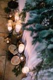 Piękny ślubny czas zdjęcie stock