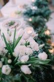 Piękny ślubny czas Fotografia Stock