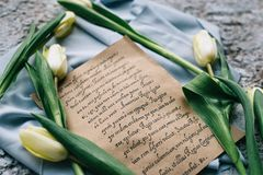 Piękny ślubny czas obrazy royalty free