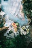 Piękny ślubny czas obrazy stock
