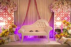Piękny Ślubny ołtarz, podium/ Obraz Royalty Free