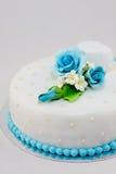 Piękny ślubny tort Fotografia Stock