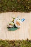 Piękny ślubu kwiatu bonbonniere Fotografia Royalty Free