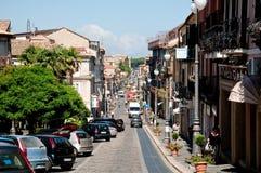 Piękny środkowy kurs vibo Valentia w Calabria fotografia stock