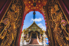 piękny świątynny Thailand Zdjęcia Royalty Free