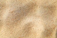 Piękny żółty piasek Zdjęcie Stock