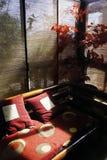 Piękny żywy pokój z pięknym światłem - Obraz Stock