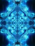 Piękny abstrakcjonistyczny artystyczny 3d komputer wytwarzał ilustrację gładki jaskrawy głęboki dna wzorcowego wzoru grafiki tło ilustracji