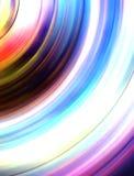 Piękny abstrakcjonistyczny tęcza okręgu koloru tło Fotografia Royalty Free