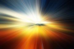 Piękny abstrakcjonistyczny tło w błękicie, zieleni, kolorze żółtym i pomarańcz brzmieniach, zdjęcia stock
