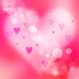 Piękny abstrakta menchii tło Zdjęcie Royalty Free