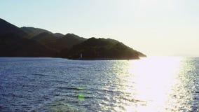 Piękny Adriatycki lato zmierzch zbiory wideo