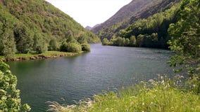 Piękny Aiguestortes ja Estany De Sant Maurici park narodowy Hiszpańscy Pyrenees w Catalonia zdjęcie wideo