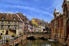 Piękny Alsace, Francja fotografia stock